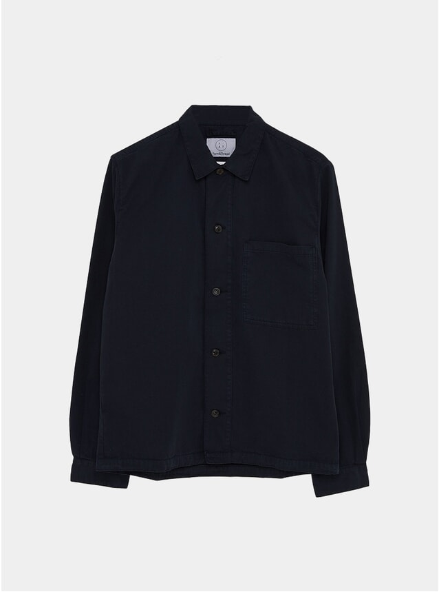 Deep Navy Studio Overshirt