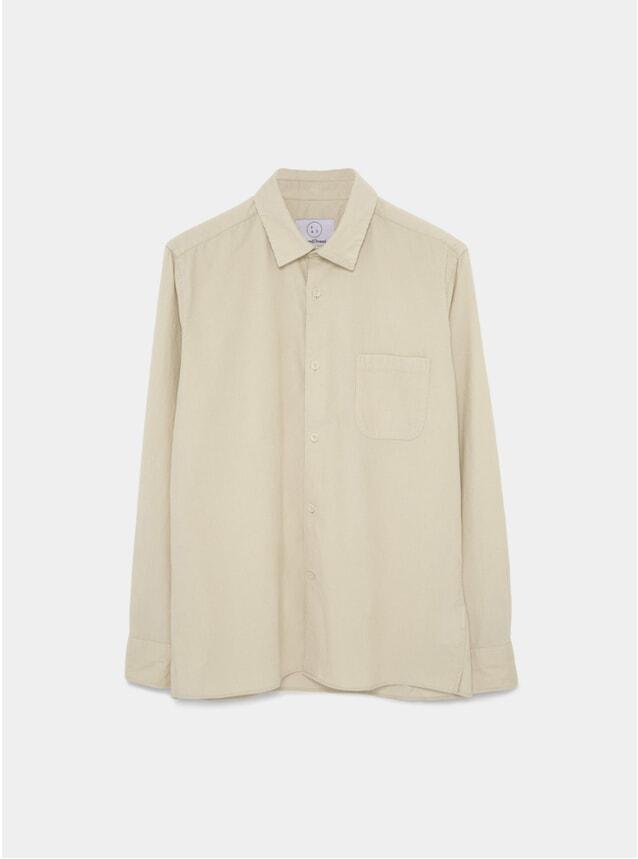 Ecru Cord Essential Shirt