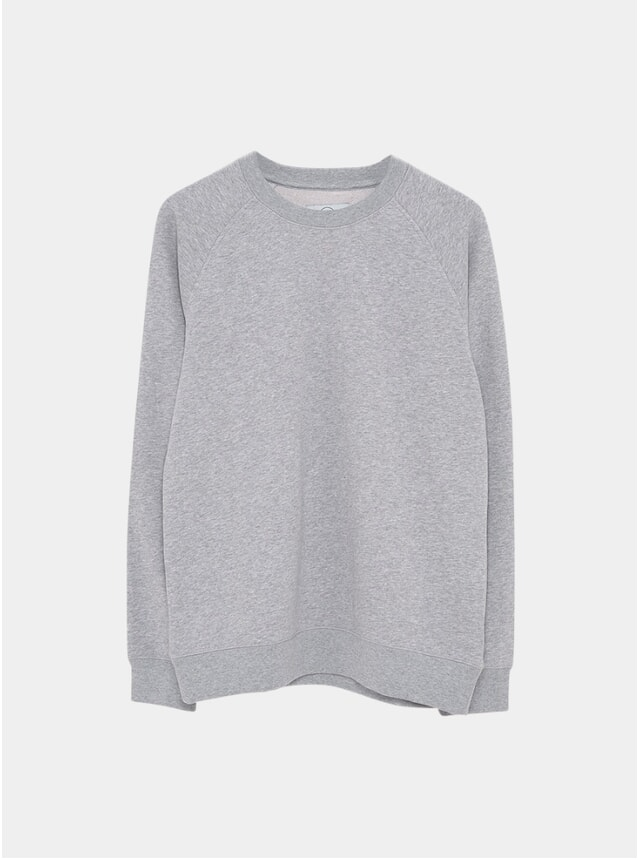 Grey Melange Essential Sweatshirt