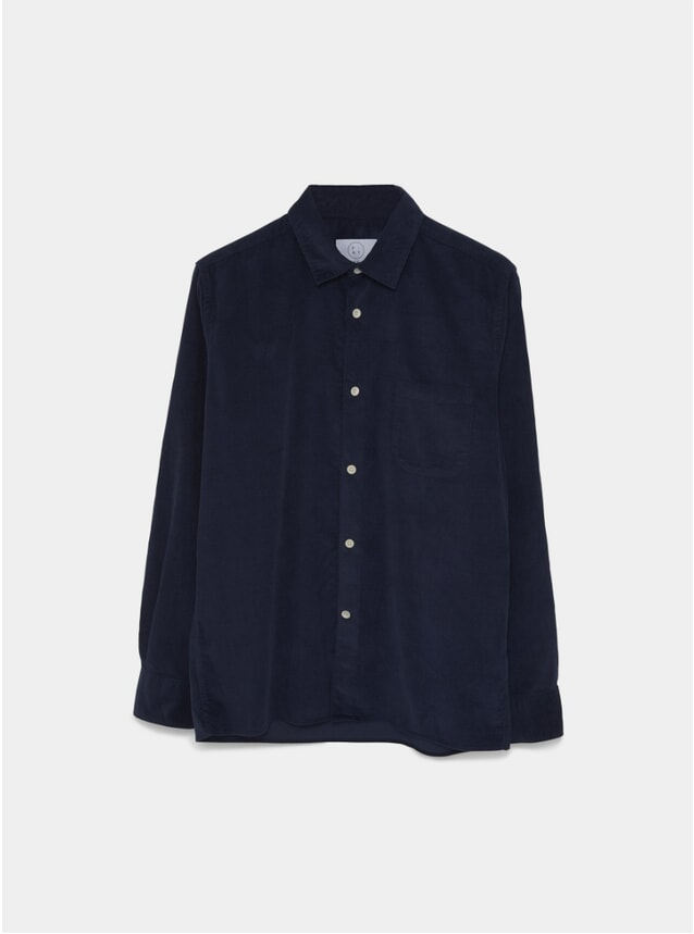 Navy Cord Essential Shirt