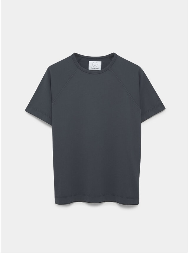 Slate Blue Raglan T Shirt