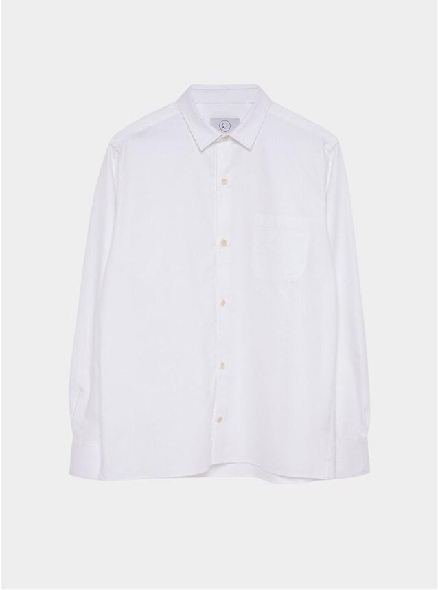 White Heavy Oxford Essential Shirt