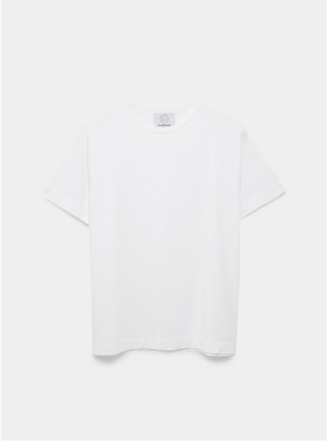 White Raglan T Shirt
