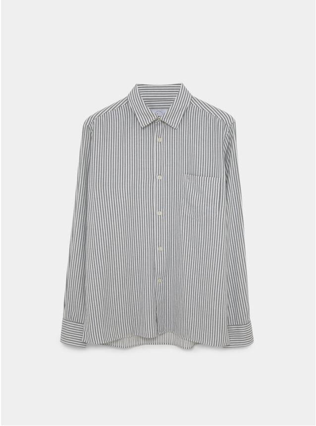 White Shibuya Stripe Essential Shirt