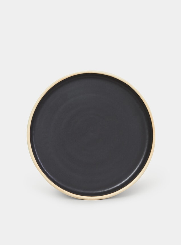 Black Otto Plate Set of 2