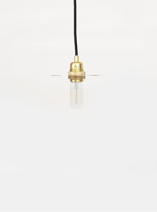 Small Brass Circle Pendant