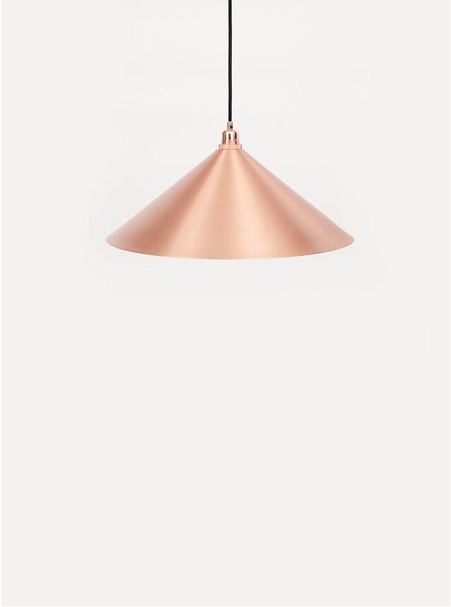 Small Copper Cone Pendant