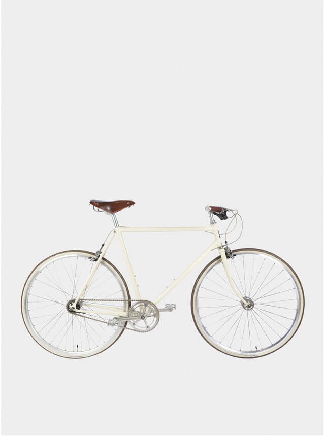 Cream Walbrook 2019 3-Speed City Bicycle