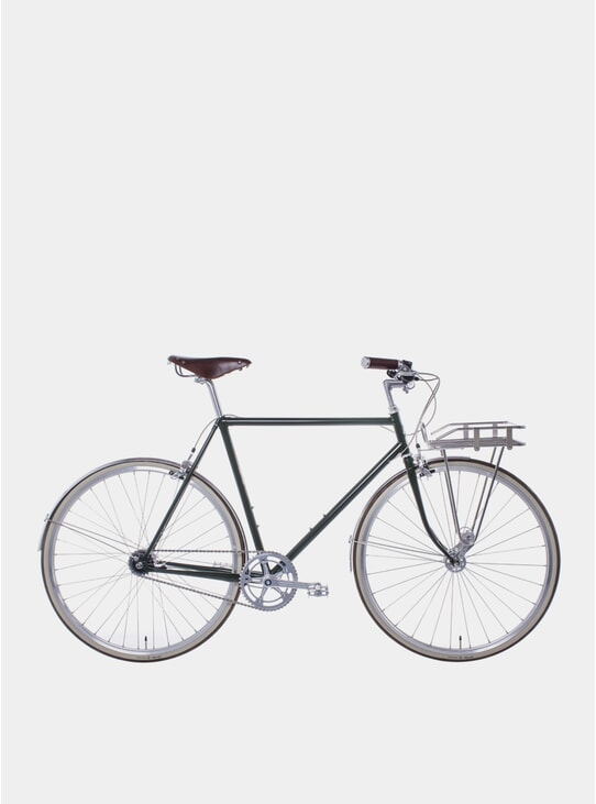 Moss Green Walbrook 2019 3-Speed City Bicycle