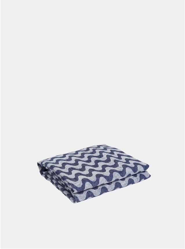 Navy / Blue Copacabana Linen Beach Towel