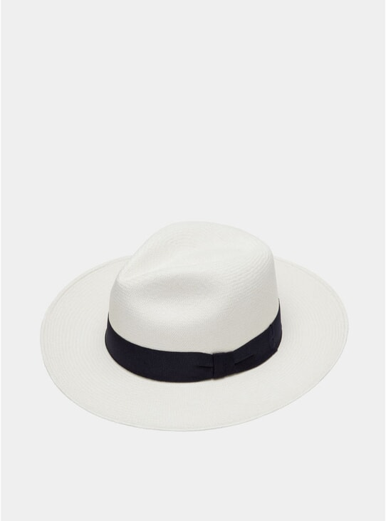 Navy / Blue Panama Hat