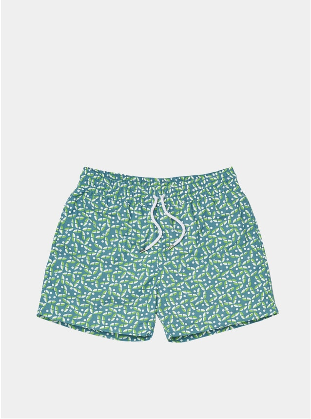 Harbour Green / Coconut Acai Swim Shorts
