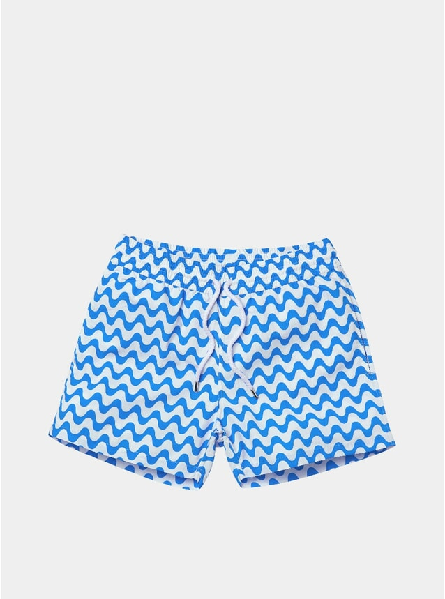 Blue Copacabana Sports Swim Shorts