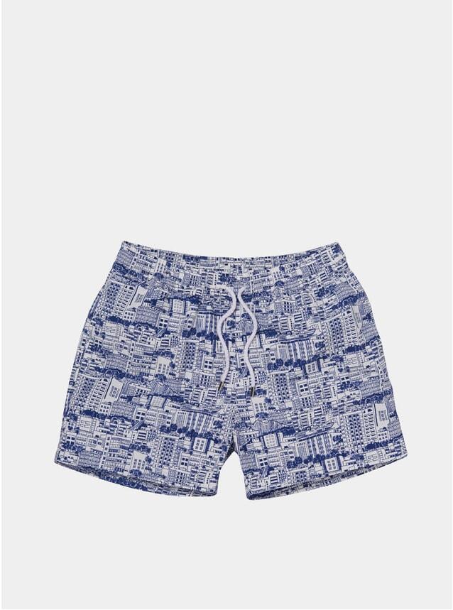 Navy Blue Predios Swim Shorts