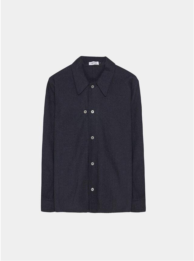 Deep Sea Flannel Odal Shirt
