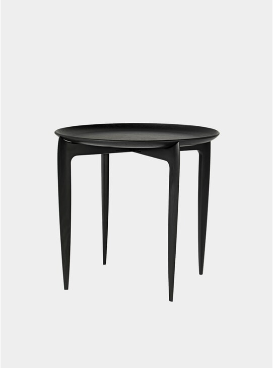 Black Large Tray Table