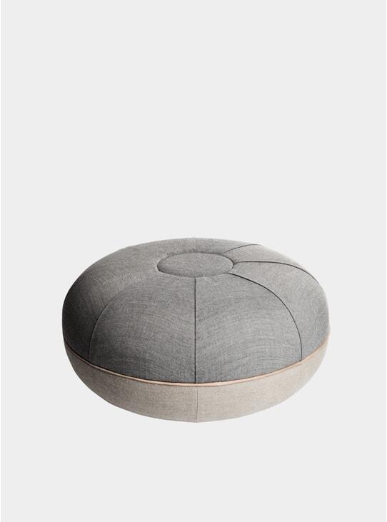 Concrete Large Pouf
