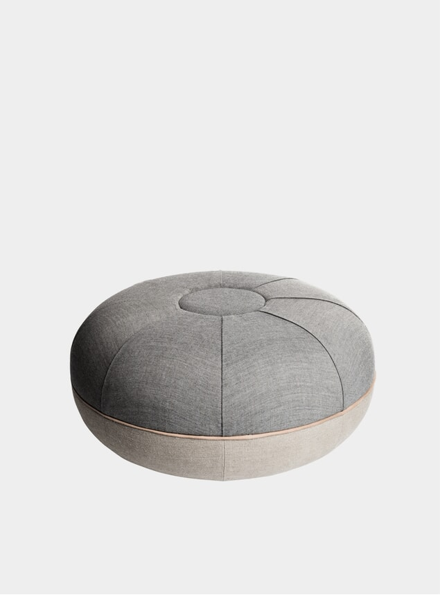 Concrete Large Pouf