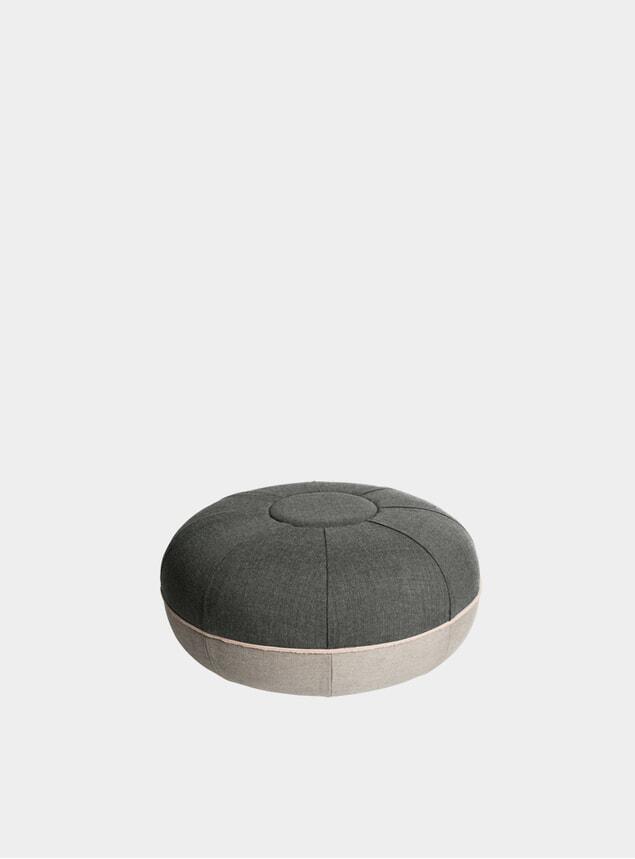 Concrete Small Pouf
