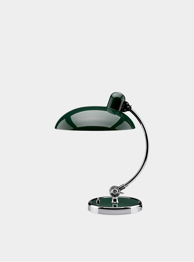 Dark Green Kaiser Idell Desk Lamp