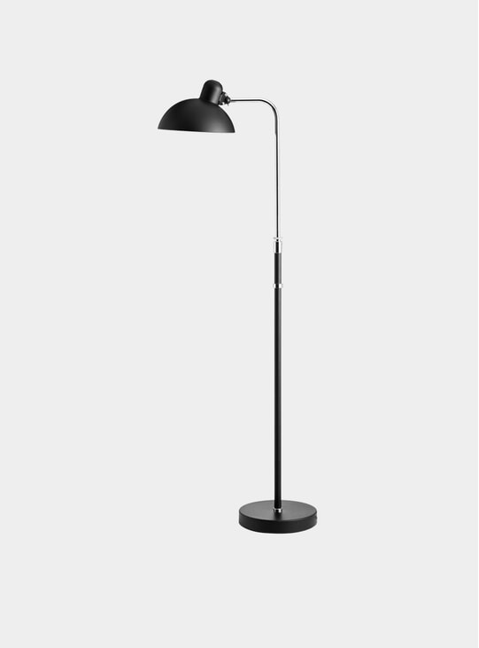 Matt Black Kaiser Idell TM Floor Lamp
