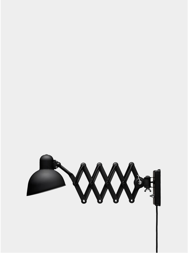 Matt Black Kaiser Idell Wall Lamp