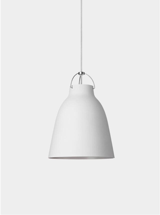 Matt White Caravaggio Pendant Lamp