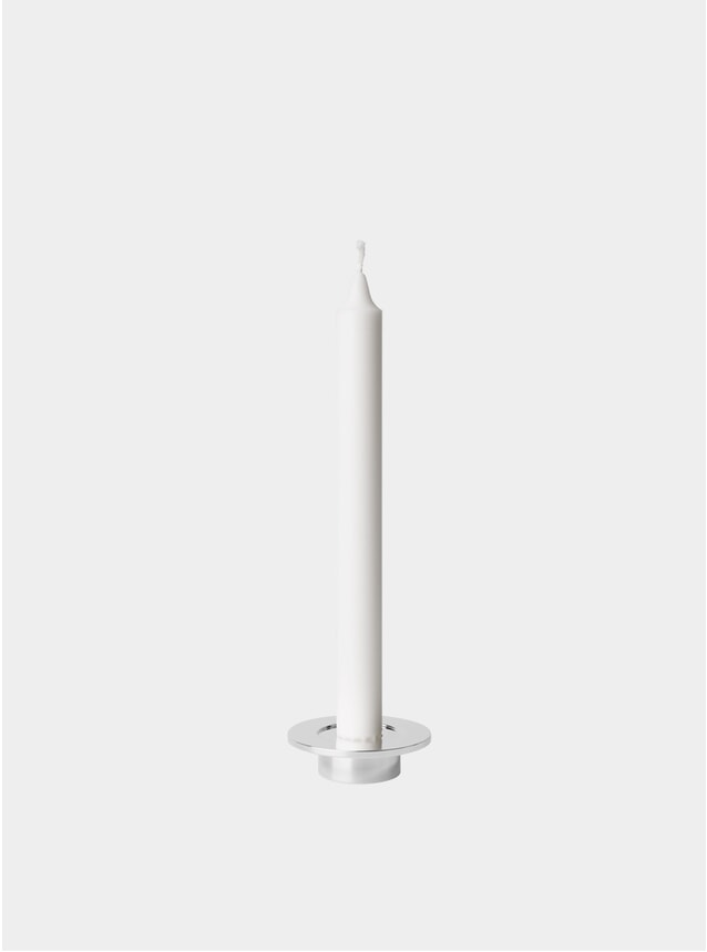 Polished Stainless Steel Candleholder