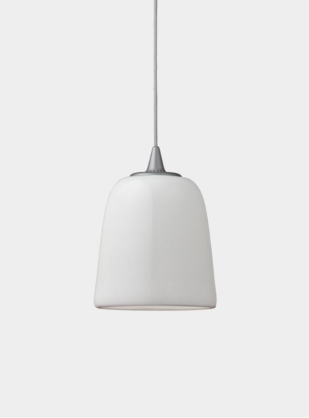 Silver Dogu Pendant Lamp