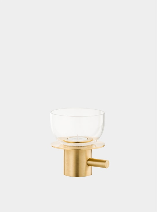 Solid Brass Tea Light