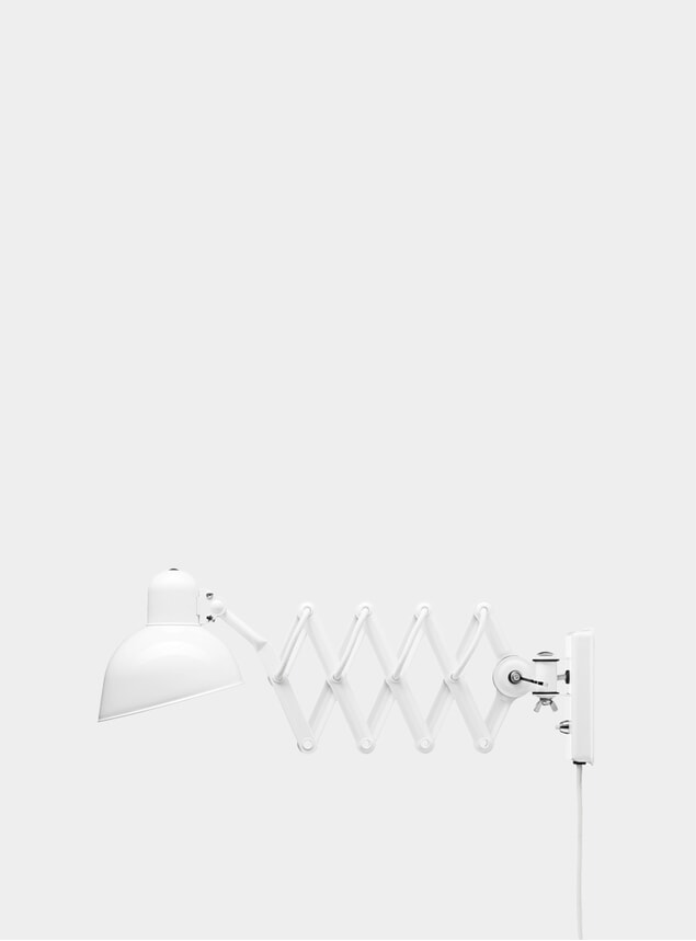 White Kaiser Idell Wall Lamp