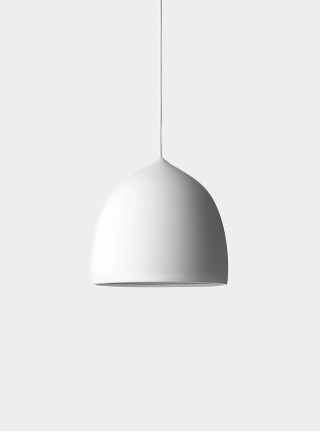 White Suspence Pendant Lamp