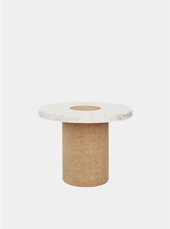 White Sintra Side Table