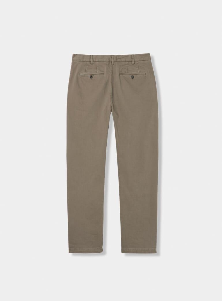 Gant Desert Brown Regular Stretch Chinos   OPUMO