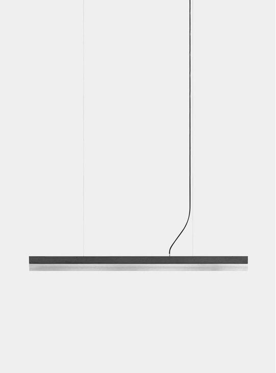Dark Grey Concrete / Stainless Steel C1 Pendant Light