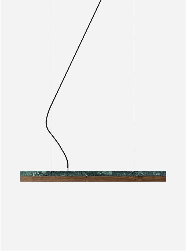 Marble / Wood Small C2M Pendant Light