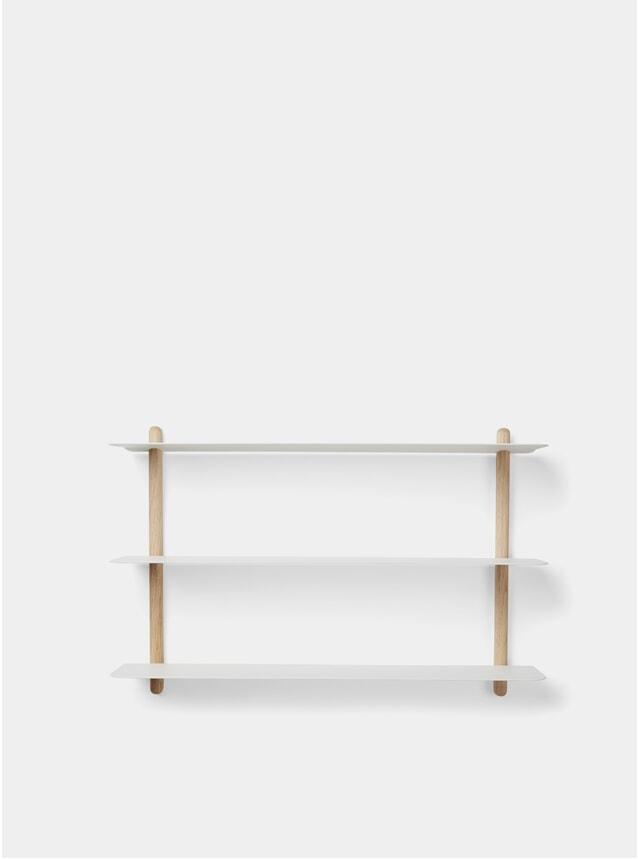 White Light Oak Nivo A Shelf
