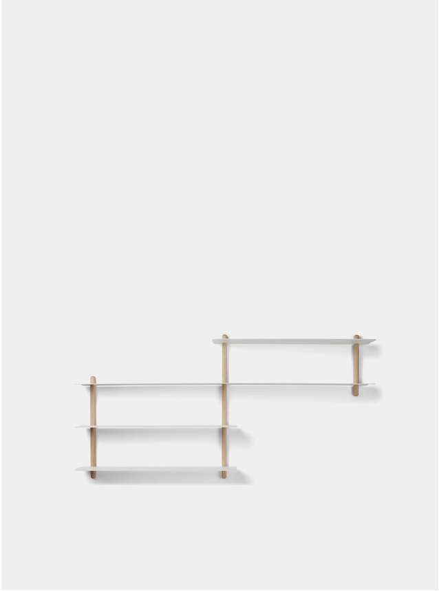 White Light Oak Nivo B Shelf