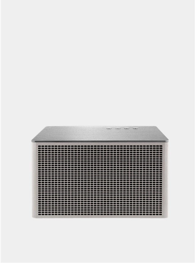 White Acustica Lounge Bluetooth Speaker