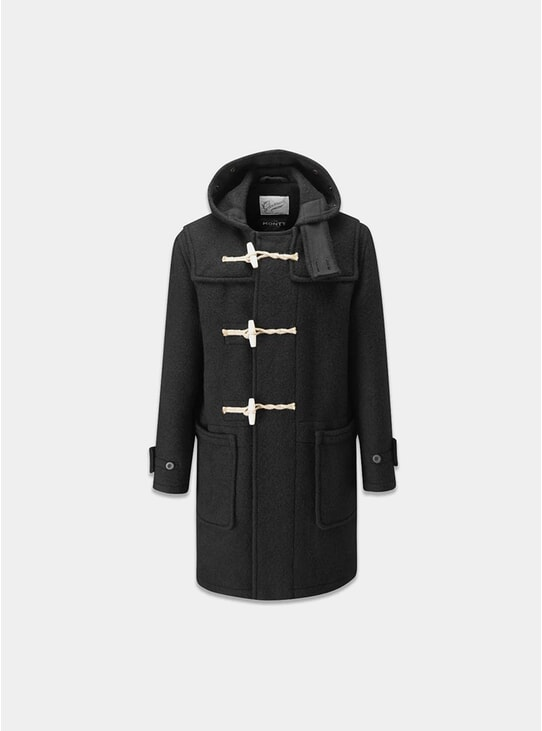Black Monty Duffle Coat