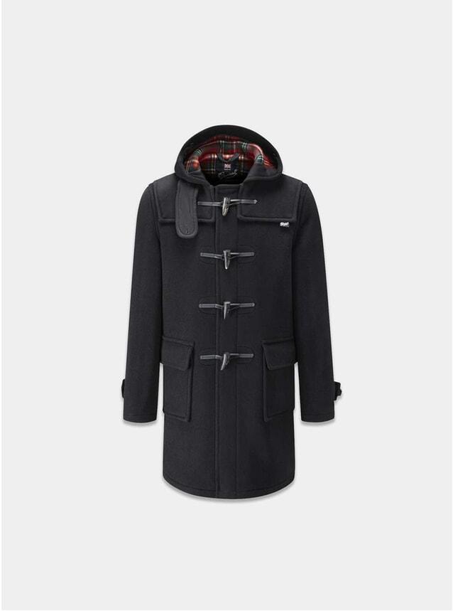 Black Stewart Morris Duffle Coat
