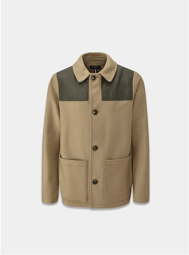 Camel Collins Donkey Jacket