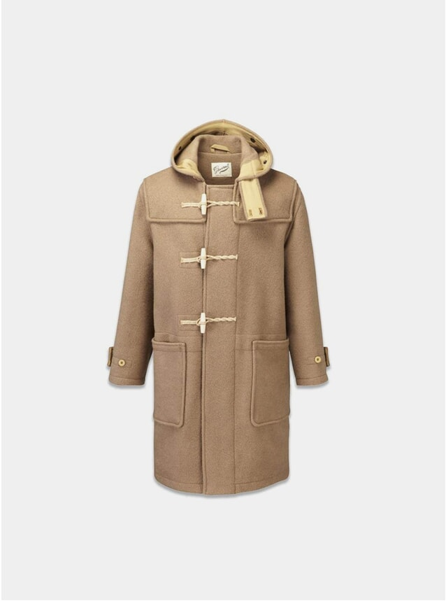 Camel Monty Duffle Coat