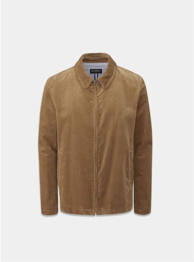 Camel Musso Cord Harrington Jacket