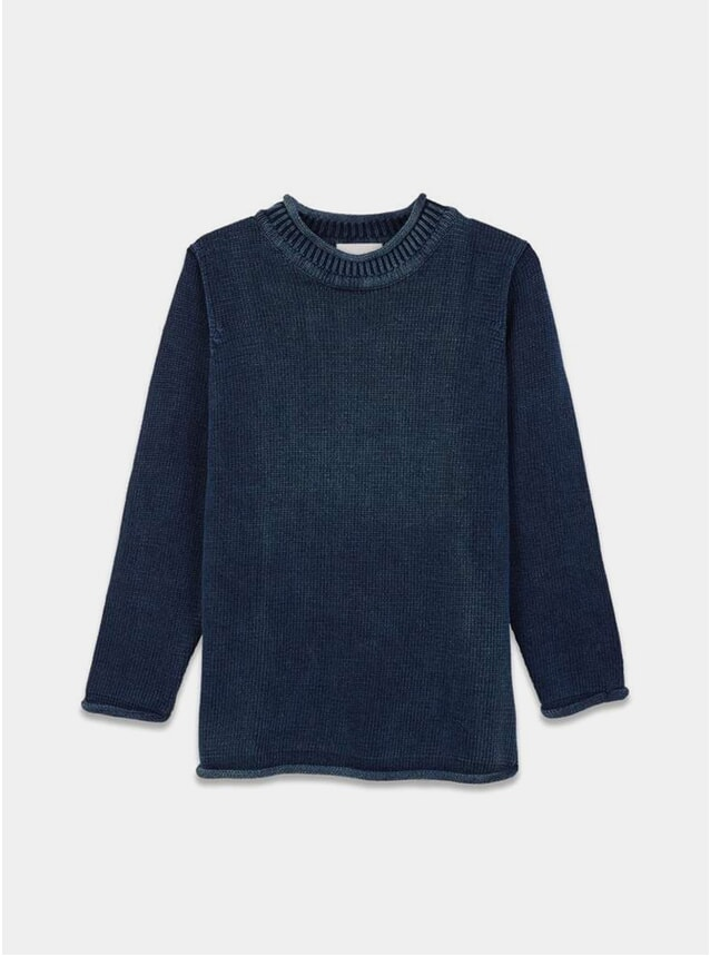 Indigo Knit Jumper