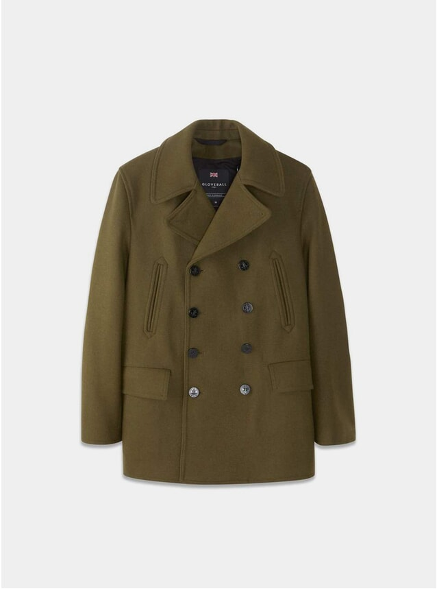 Loden Churchill Peacoat