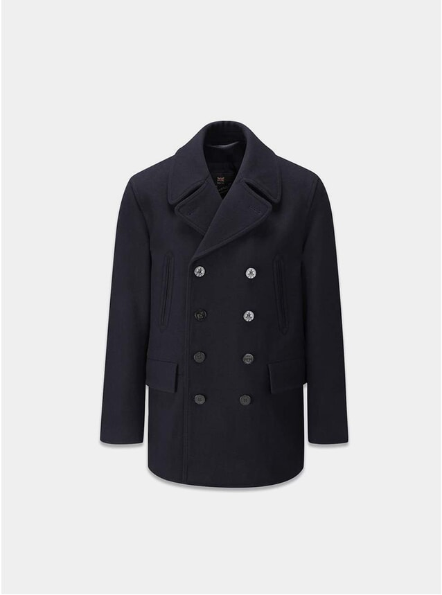 Navy Churchill Peacoat