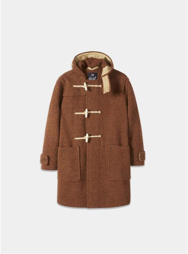Rust Monty Duffle Coat