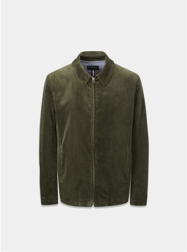 Sage Musso Cord Harrington Jacket