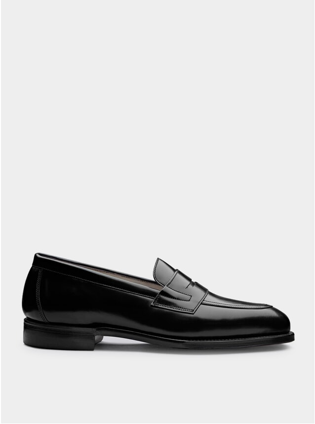 Black Bartlett Loafers